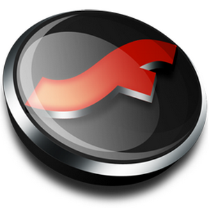 how to open flv files with adobe flash player